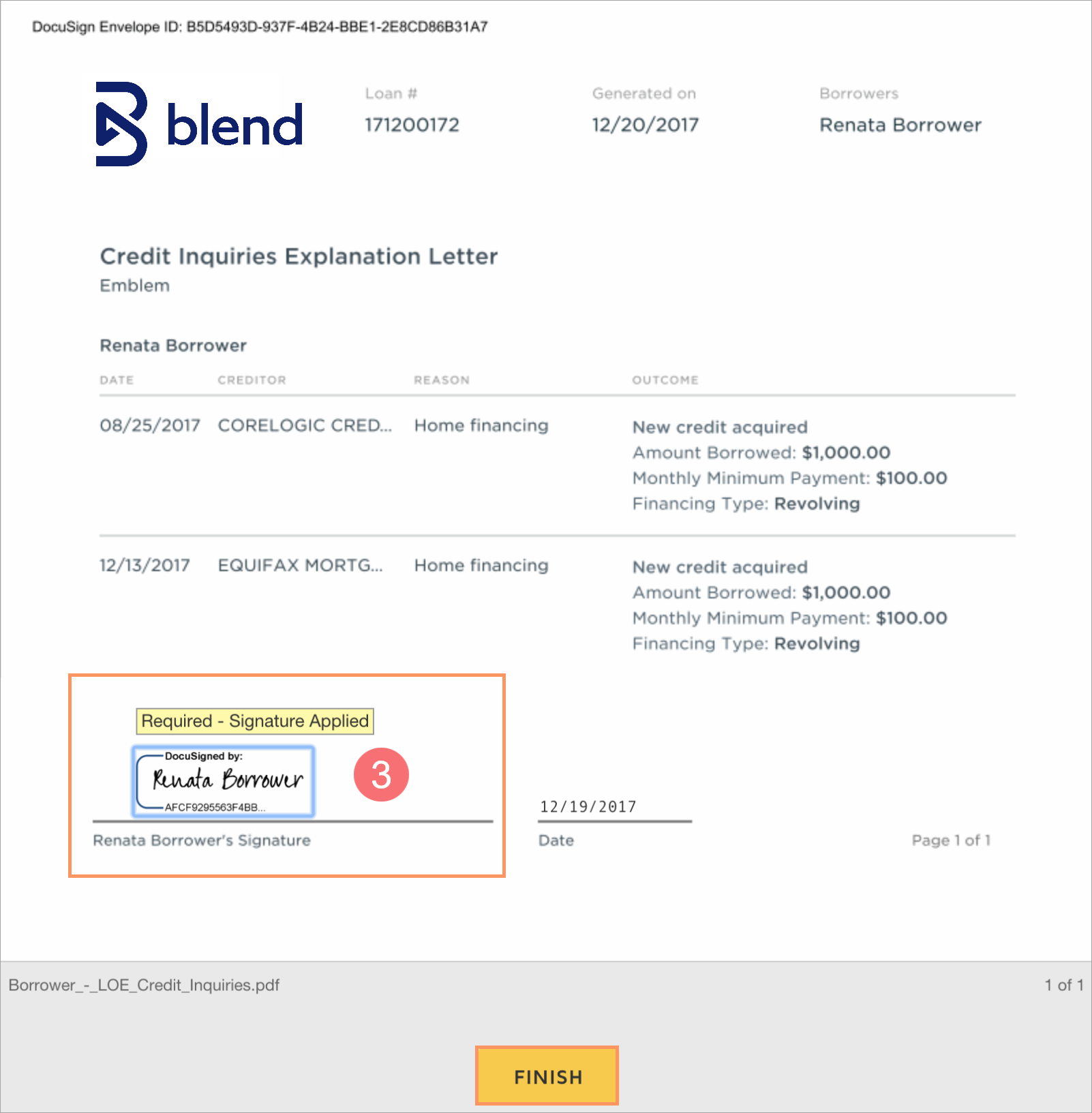 Letter Of Explanation For Credit from help.blend.com